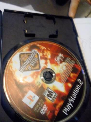 Juego playstation 2 fallout brotherhood of steel