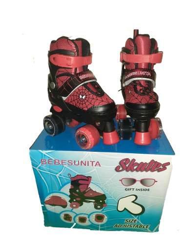 Patines 4 ruedas para niños +kit ajustables