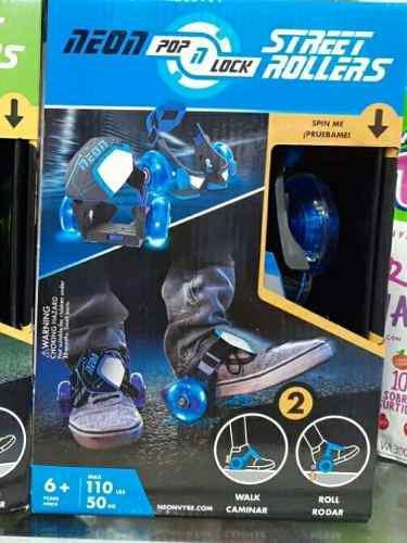 Ruedas para los zapatos. patines de niño con luces led