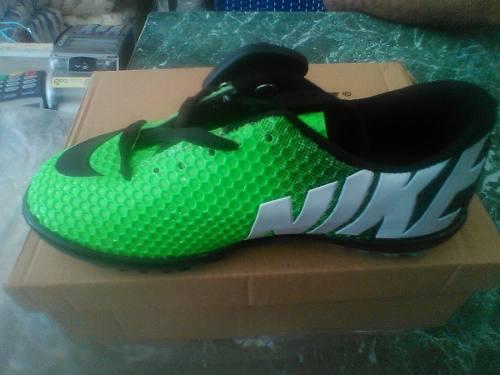 Zapatos futbol sala nike micro tacos tallas 31 a la 37