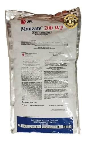 2 sobres de manzate 1 kilo fungicida agricola