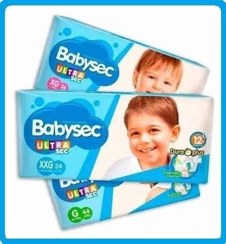 Pañales babysec baby sec 100 und