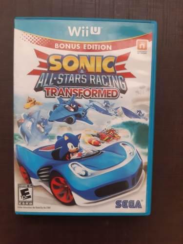 Sonic racing wii u
