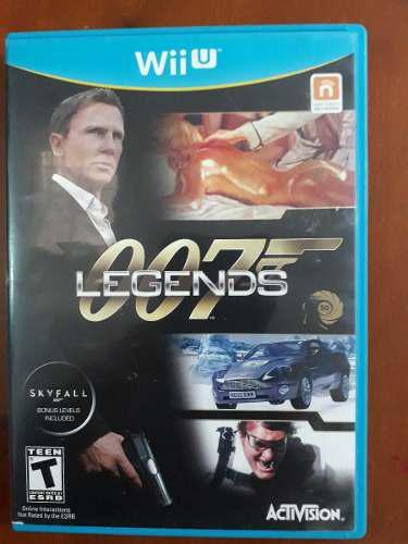 Videojuego de nintendo wii u 007 legends