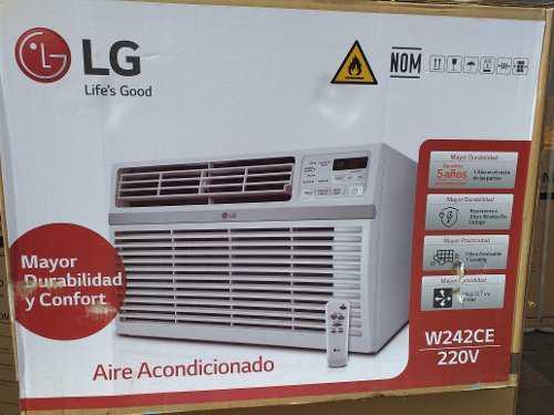 Aire acondicionado de 24btu ventana lg
