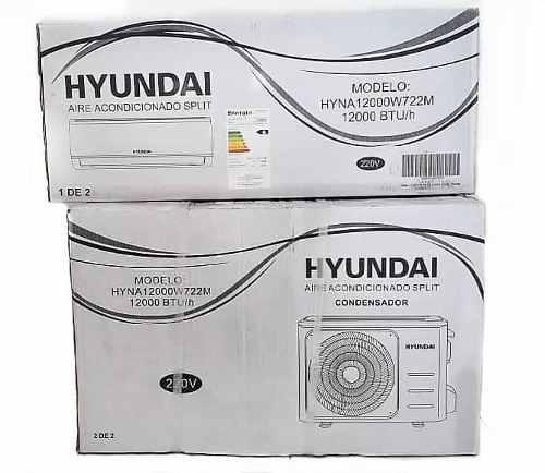 Aire acondicionado hyundai 12000 btu split