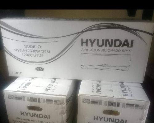 Aire acondicionado hyundai split 12000 btu