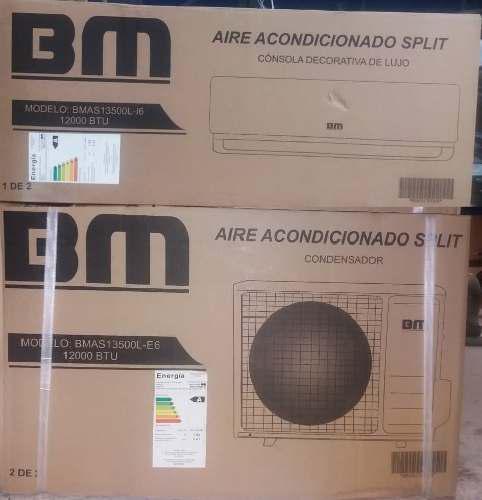Aire acondicionado split bm 12000 btu