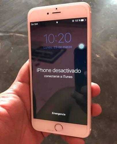 Iphone 6 plus para repuesto