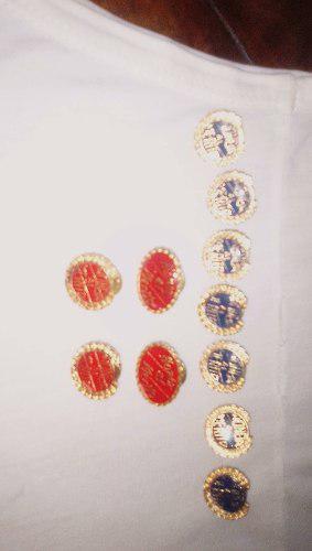 Botones Para Condecoración De Horno Al Mérito
