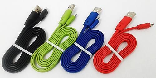 Cable Micro Usb Plano Carga Y Datos Samsung Tienda Fisica
