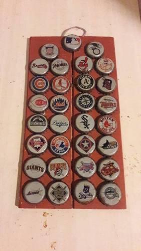 Coleccion Chapas Beisbol Mlb Años 90