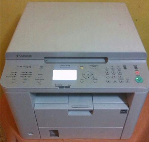 Fotocopiadora impresora multifuncional canon imageclass 3en1