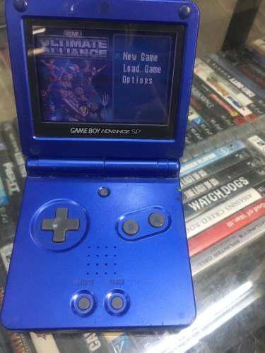 Game boy sp color azul tienda excelente condiciones