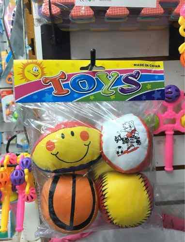 Juguete para bebés juego de pelotas suaves.