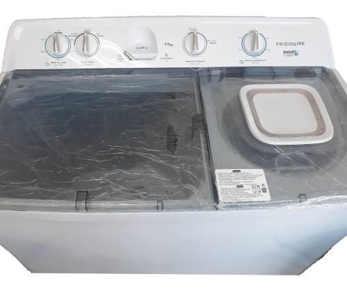 Lavadora doble tina semi automatica 17 kg frigidaire