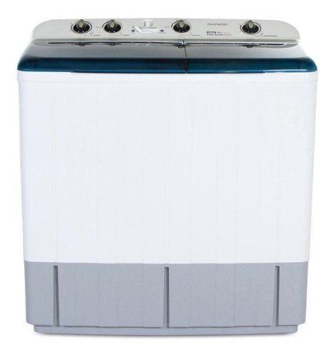 Lavadora doble tina semi automática daewoo 12kilos