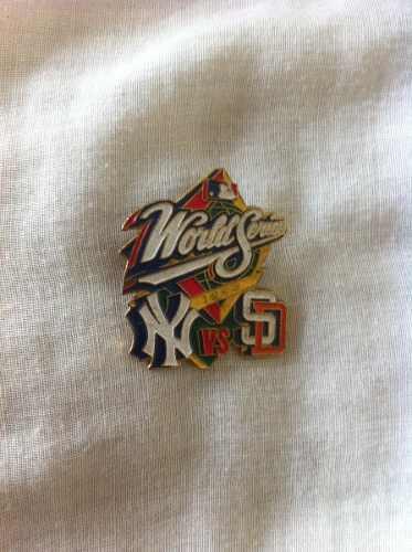 Mlb, Pin Recuerdo Serie Mundial 1998, Yankees Vs San Diego,