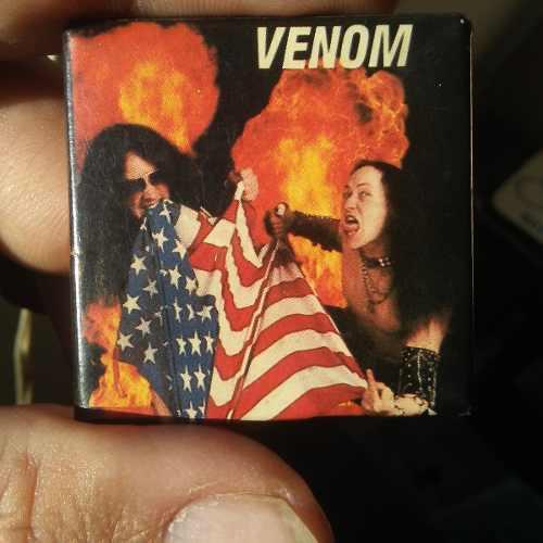 Pin De Rock Grupo Venom
