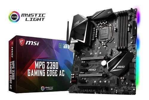 Tarjeta madre msi mpg intel z390 edge wifi socket 1151 9na g
