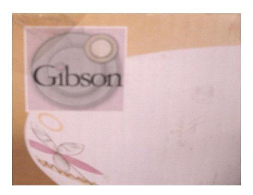 Vajilla 20 pzas. porcelana marca gibson