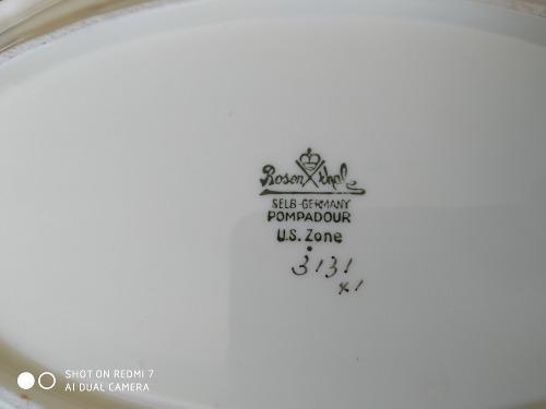 Vajilla rosenthal pompadour