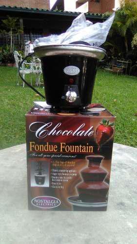 Fondue chocolate fuente