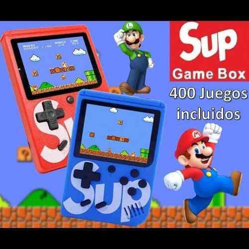Mini nintendo sup(18v) mini consola 400 juegos