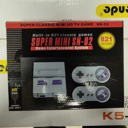 Nintendo Clásico Hd 821 Juegos (45vrd)