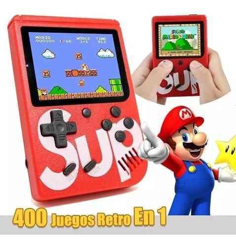 Nintendo sup 400 juegos retro video juegos niños game box