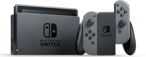 Nintendo switch consola gris