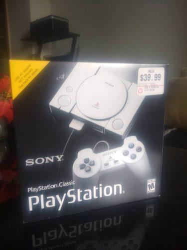 Playstation clasic nuevo sellado