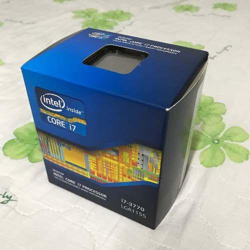 Procesador core i7 3770 3ra gen cpu intel ivy bridge 1155