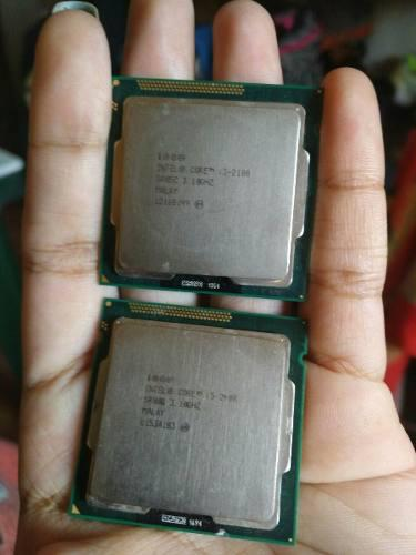 Procesador I3 2100 Y I5 2400