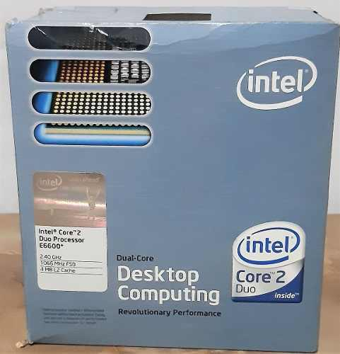 Procesador Intel Core 2 Duo 6600 + Fan Cooler