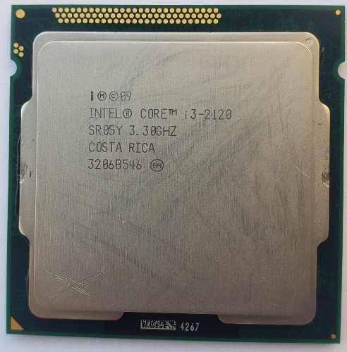 Procesador intel core i3-2120 3.30ghz 2era gen 1155
