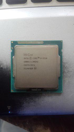 Procesador Intel Core I3 3220 3.30ghz 3ragen Socket Lga 1155