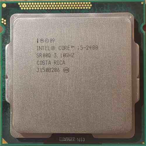 Procesador intel core i5-2400 3.10ghz 2da gen socket 1155