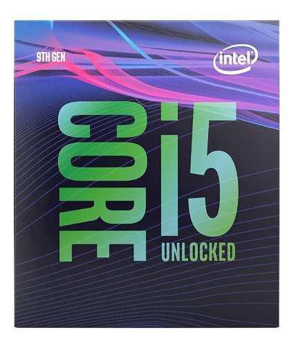 Procesador intel core i5-9600k coffee lake 6 nucleos 3.7 ghz