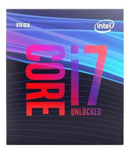 Procesador intel core i7 9700k octacore 3.6ghz video int 630