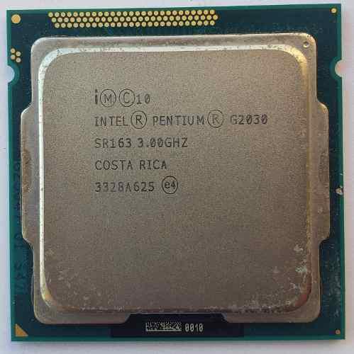 Procesador intel pentium dual core g2030 3era gen