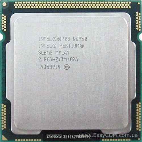 Procesador pentium g6950 lga 1156 ddr3 2.80ghz 3mb cache 5v