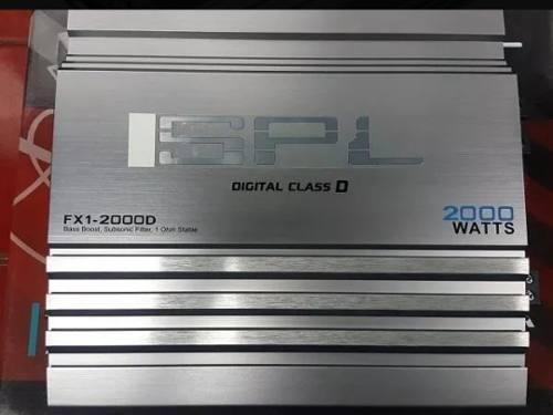 Amplificador Planta Spl Monoblock 2000w