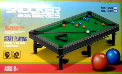 Mesa de pool para niños juego mesa didáctico 18 cm