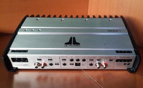 Planta amplificador jl audio slash 500/1 ver video