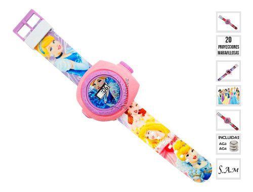 Reloj disney infantil niñas niños 20 proyecciones