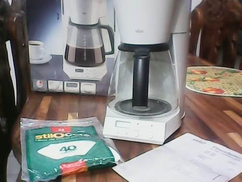 Cafetera braum 12 tazas