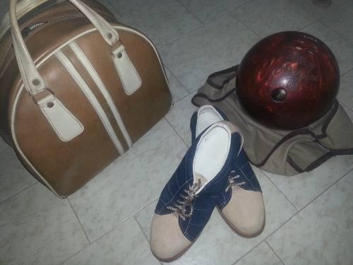 Combo bola bowling amf strikeline