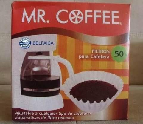 Filtro para cafetera mr. coffee
