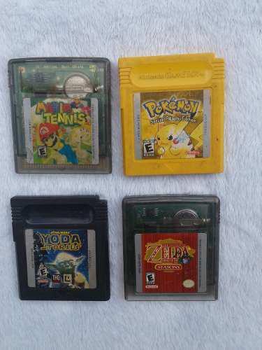 Gameboy color y gameboy advance juegos